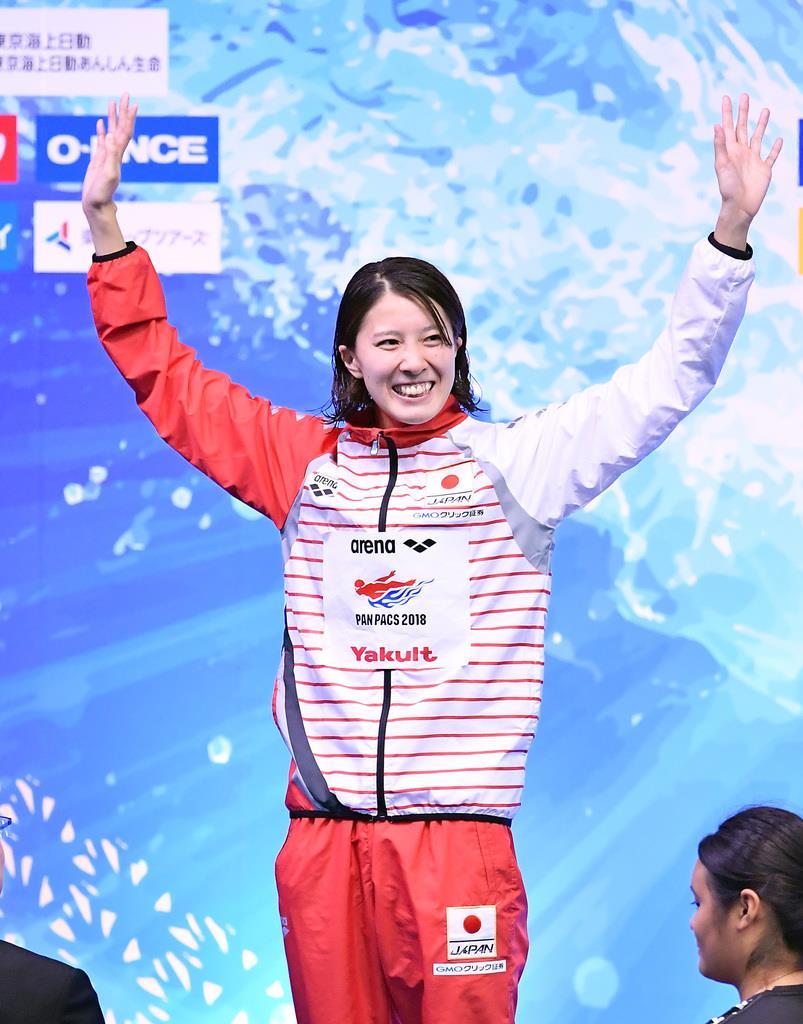 大橋悠依 女子200m個人メドレーで金メダルを獲得した大橋悠依=東京辰巳国際
