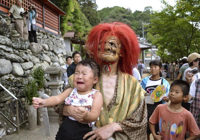 怖い鬼に泣き叫ぶ子も 和歌山・九度山 - サッと見ニュース ...