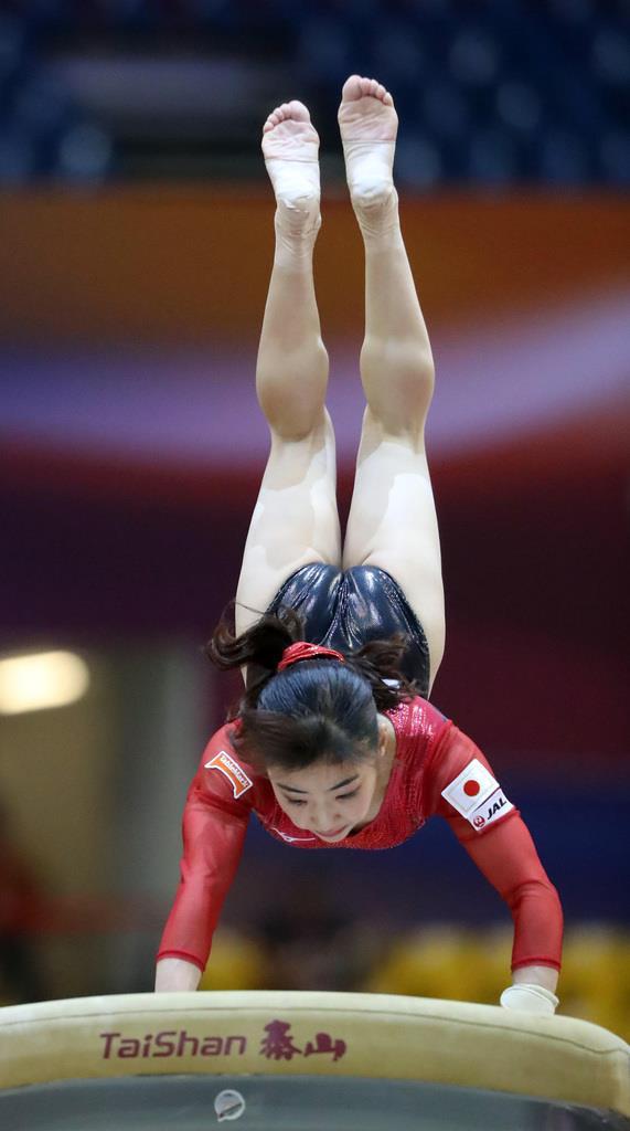 産経フォト女子団体6位、五輪出場枠獲得ならず 世界体操