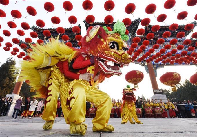 中国 春節