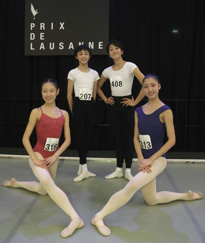 ローザンヌ 国際 バレエ コンクール