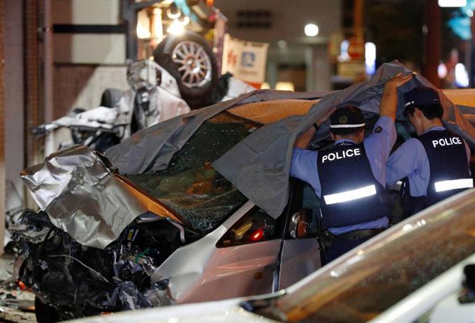 高齢者の車、交差点突入 多重事故、2人死亡 福岡 - 読んで見 ...