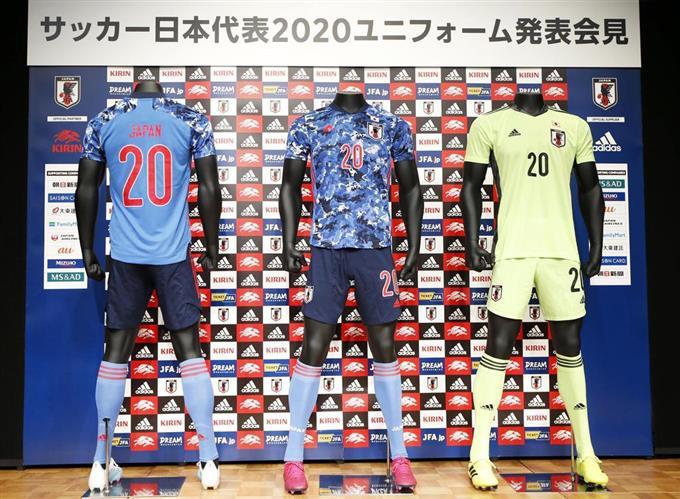 日本 代表 新 ユニフォーム