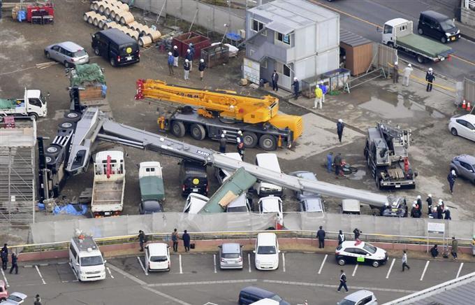 クレーン 車 事故