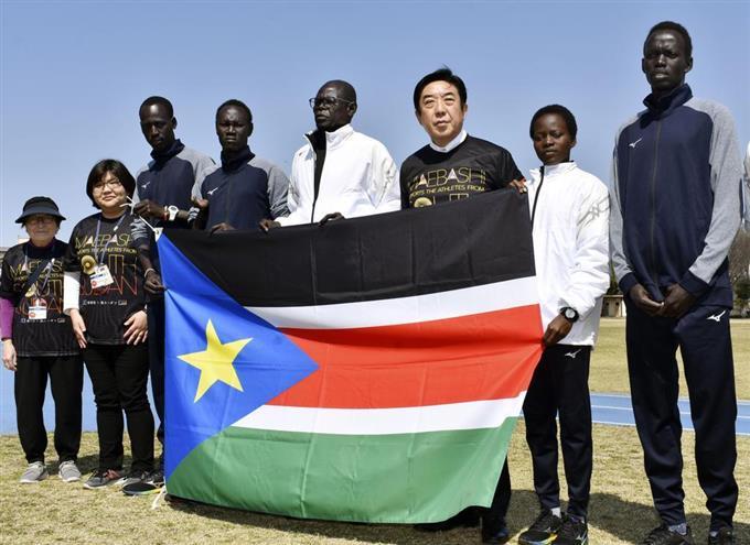 南 スーダン 前橋 五輪まで半年 南スーダン選手ら 練習に励む 前橋で2度目の冬