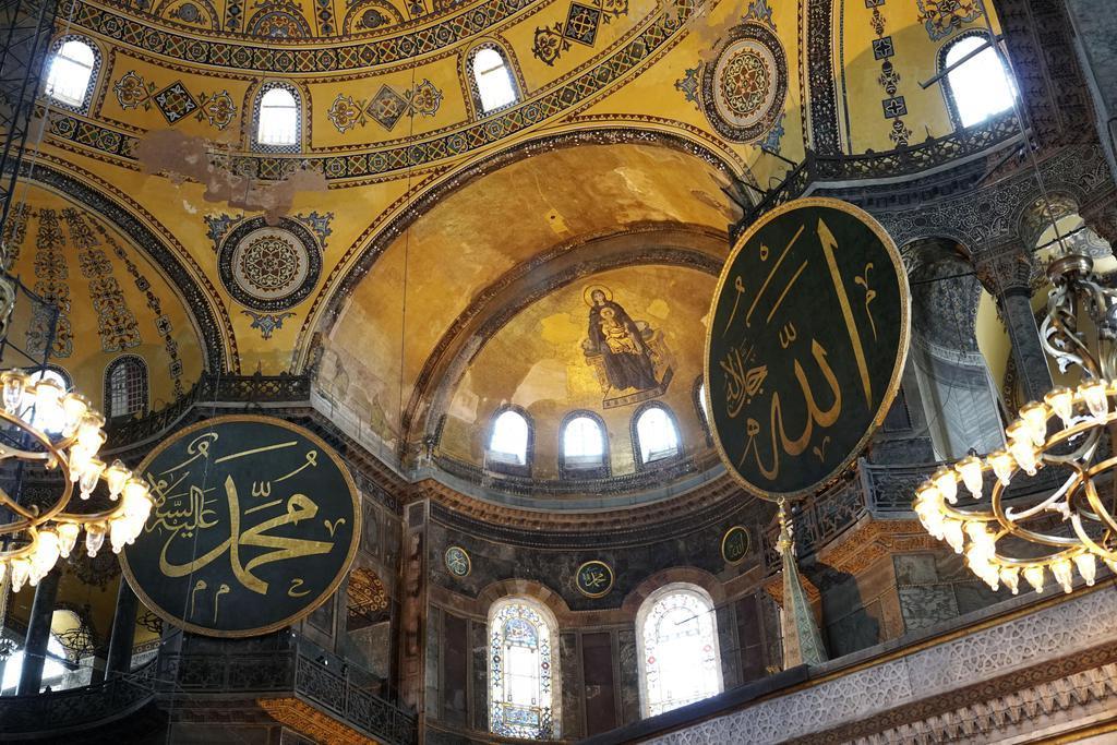 産経フォト旧大聖堂、モスク化に道 トルコ判決、宗教対立懸念