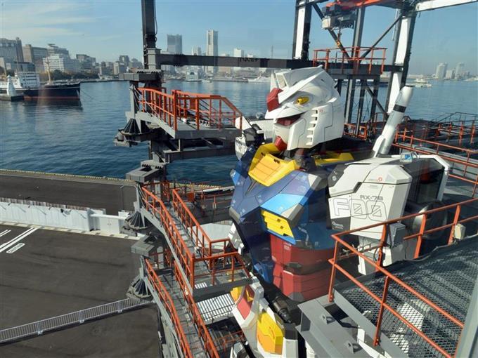 「等身大」動くガンダム お目見え 横浜【360°パノラマ】
