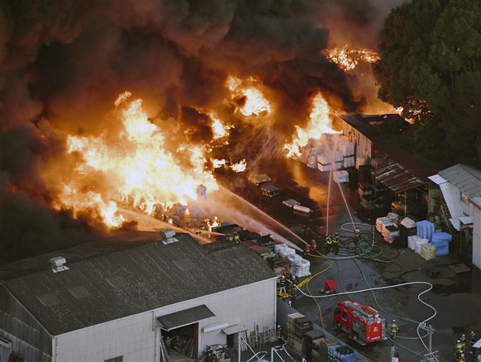 和泉 市 火事 大阪 和泉市葛の葉町付近で火災 情報相次ぐ