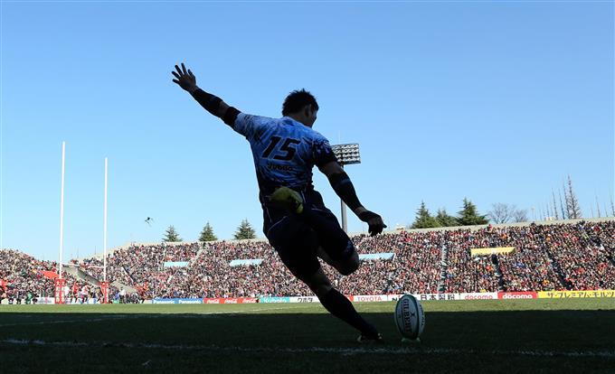 元日本代表FB五郎丸が引へ 15年W杯日本代表、歴史的3勝に貢献