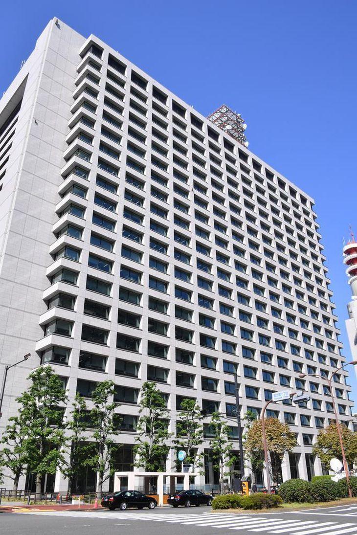 警察庁などが入る合同庁舎=東京都千代田区