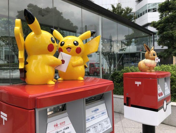 横浜市内にポケモンのオリジナルポストが誕生