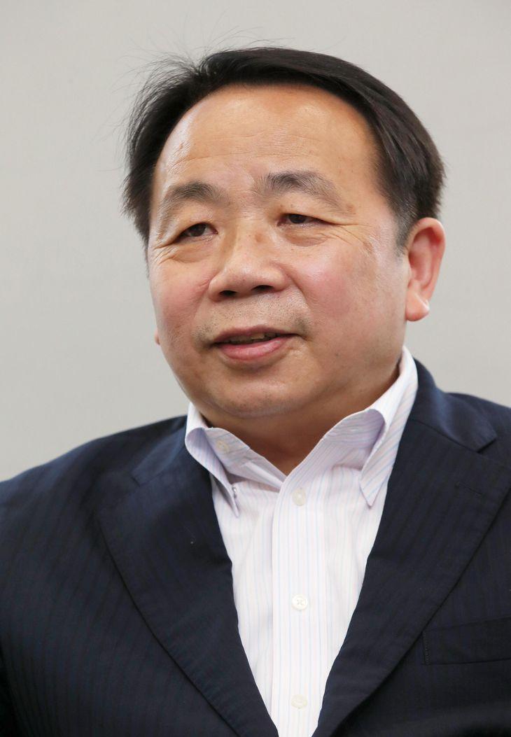 評論家の石平氏(鴨志田拓海撮影)