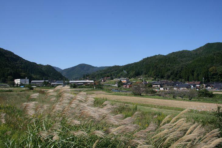 「工芸の郷」づくりが進む鳥取市河原町の西郷地区