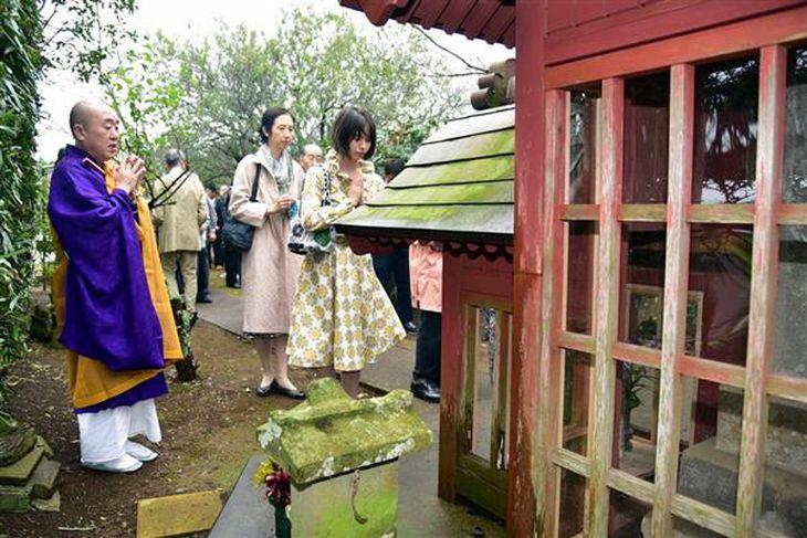 明治150年水戸藩最後の内部抗争「松山戦争」の慰霊法要 子孫ら参列