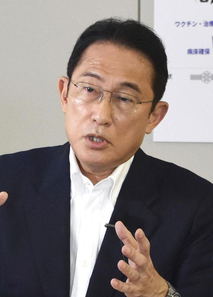岸田文雄前政調会長