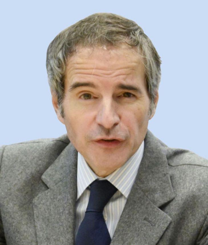IAEAのグロッシ事務局長