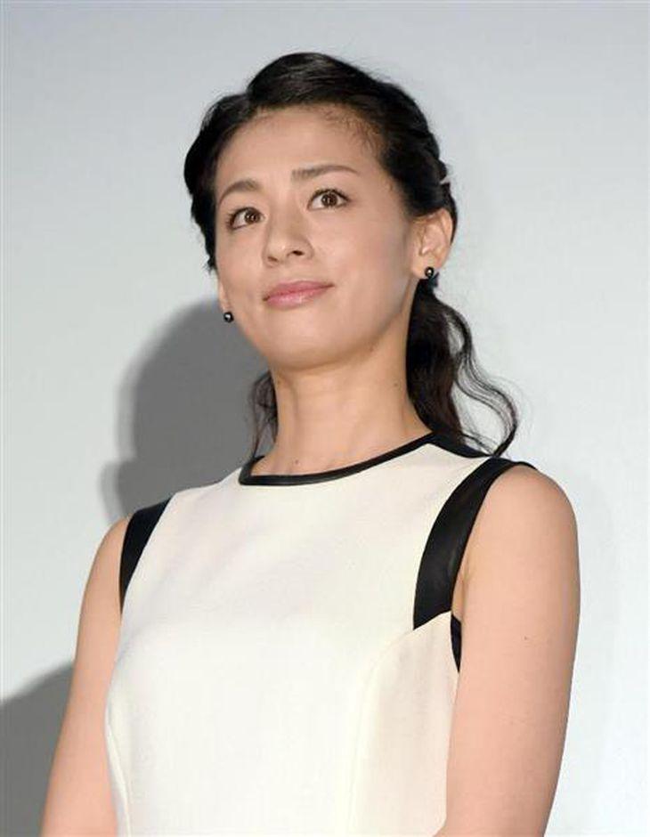 尾野真千子さん(撮影・加藤圭祐)