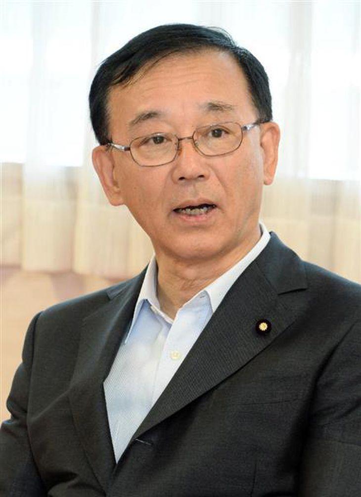 谷垣禎一氏(斎藤良雄撮影)
