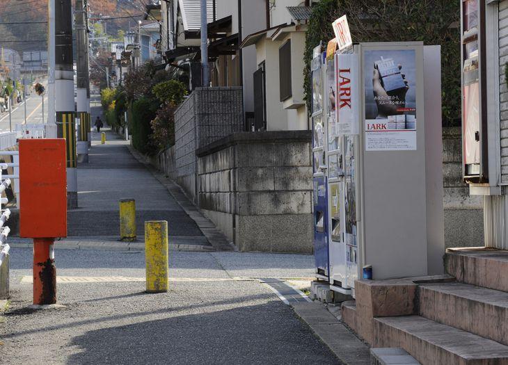 堤将太さんが刺された現場付近=平成23年12月、神戸市北区