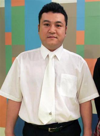 一般女性と結婚したことを発表したアンタッチャブルの山崎弘也
