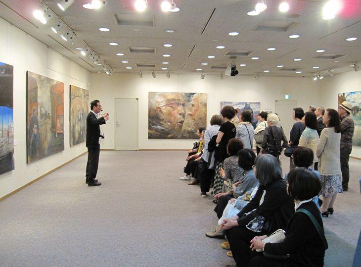 サクラアートミュージアムで開かれた展覧会の様子