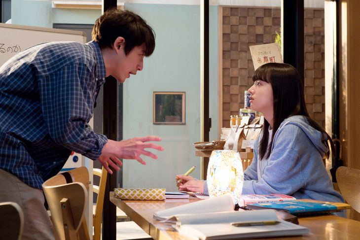 永浦百音(清原果耶)と菅波光太朗(坂口健太郎) (C)NHK