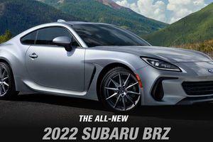 スバルの新型「BRZ」の北米仕様(公式サイトより)