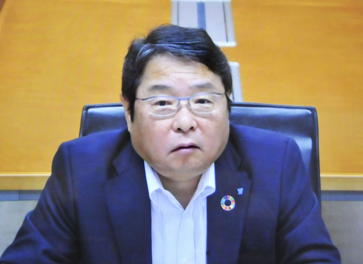 電気事業連合会の池辺和弘会長