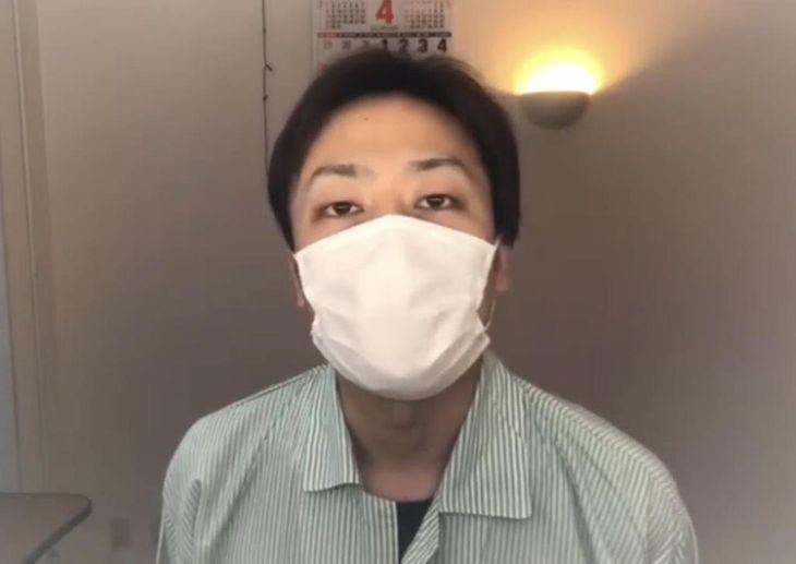 「コロナは目の前に」感染の男性が危機感訴え 動画投稿し啓発も