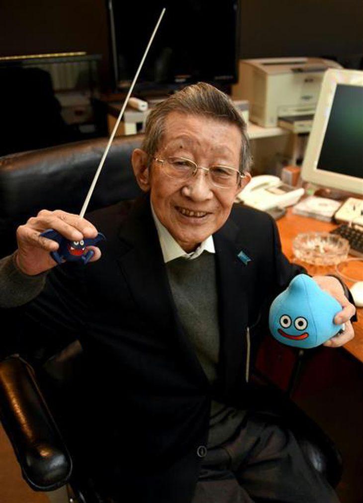 作曲家・すぎやまこういち氏(酒巻俊介撮影)