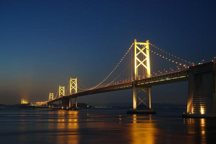瀬戸大橋が年中ライトアップできなかった理由