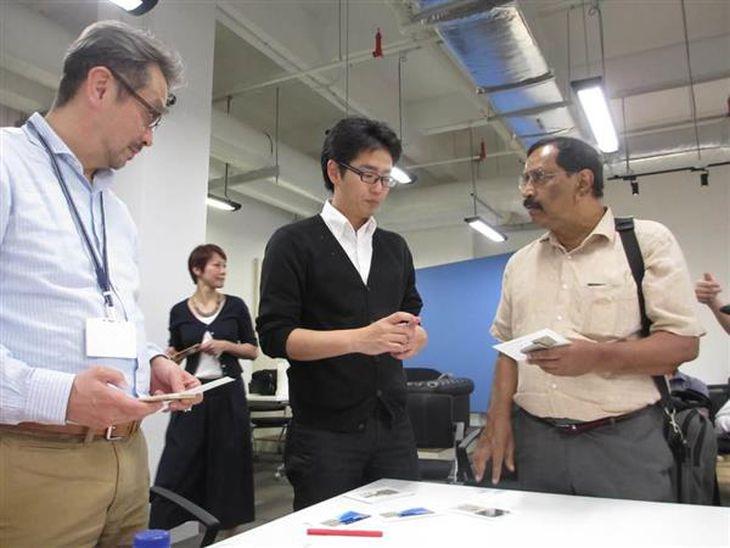 23日、日本のベンチャー企業を対象に、日本貿易振興機(ジェトロ)が開いたシンガポールのビジネス・マッチング(吉村英輝撮影)