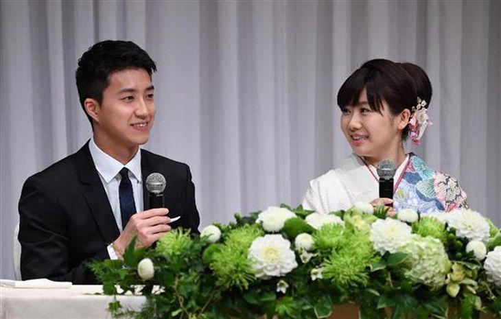 【愛ちゃん結婚】結婚の決め手は「変わらぬ応援」 会見で福原愛選手