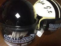 姫路のハーレーの店で買ってきたヘルメット