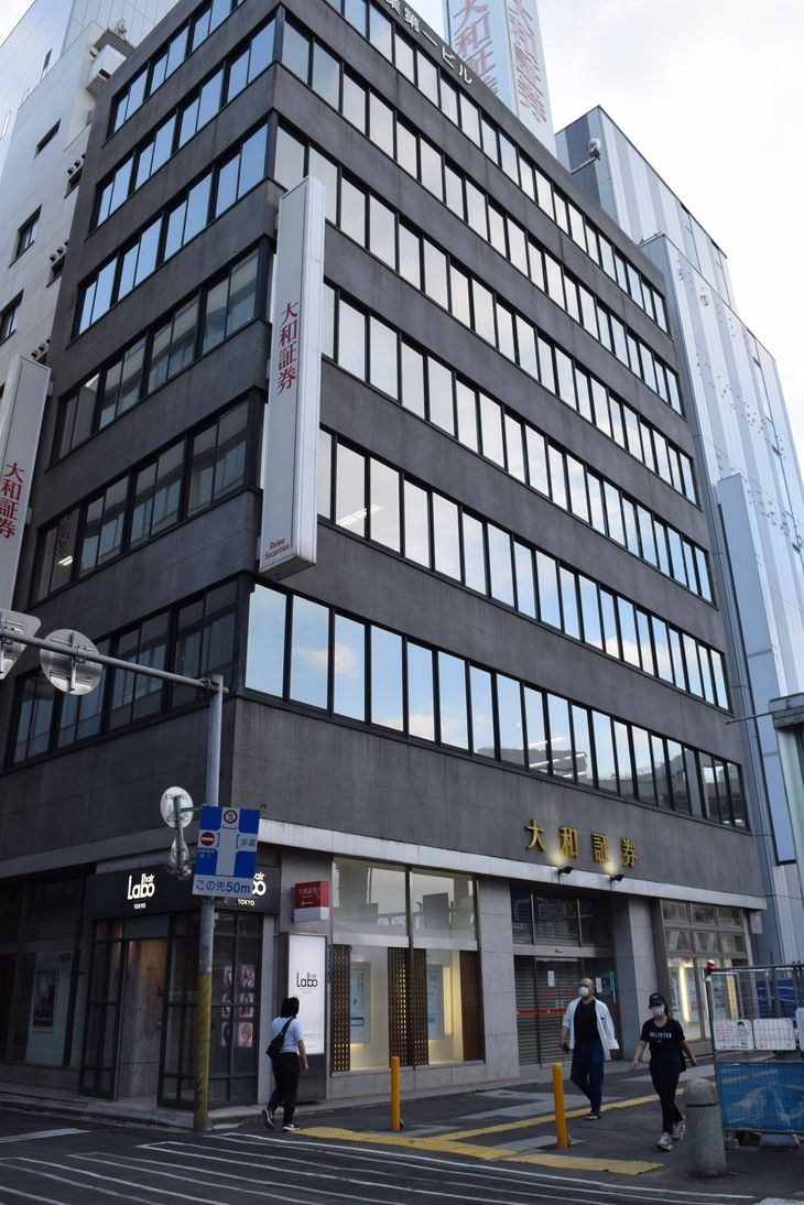県内の商業地で基準地価が最も高かった千葉市中央区富士見2丁目付近=21日(小野晋史撮影)