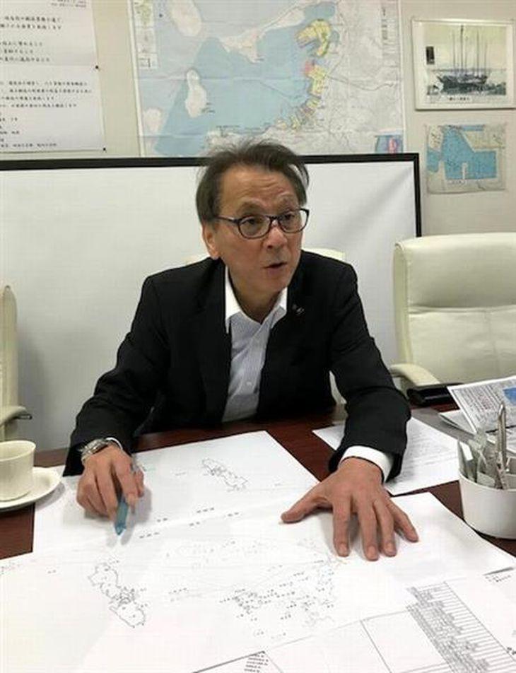 半島有事へ危機感を抱く壱岐・対馬フェリーの真崎越郎社長