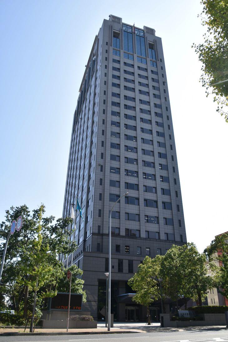 兵庫県警察本部 =神戸市中央区