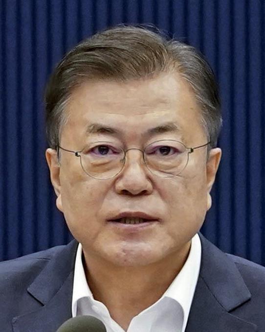 韓国の文大統領