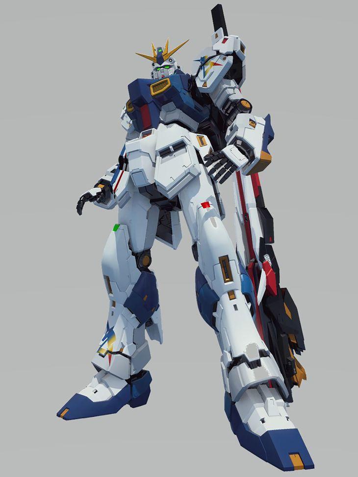 福岡市の商業施設に設置される、人気アニメ「機動戦士ガンダム」の実物大の像のイメージ(ⓒ創通・サンライズ)