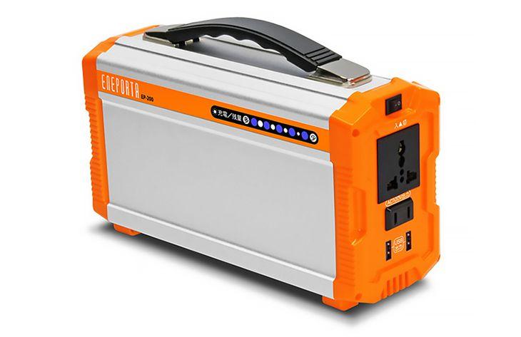 「期間限定価格」税込39,800円。災害時の強い味方!いつでもどこでも持ち運べる小型蓄電