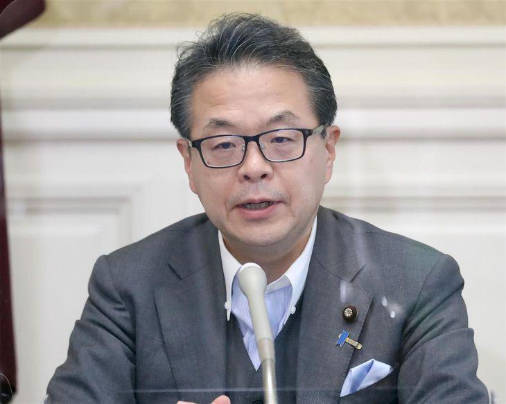 自民党・世耕弘成参院幹事長(春名中撮影)