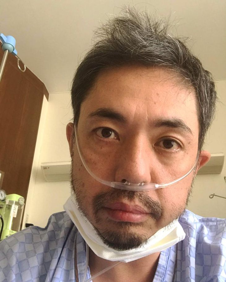 入院中の桂春蝶氏