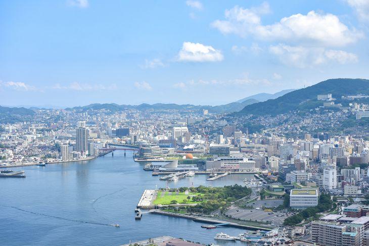 開港450周年を迎えた海の玄関口長崎港