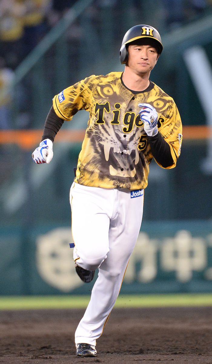 「ウル虎の夏2021」でユニホームを着用した阪神・近本