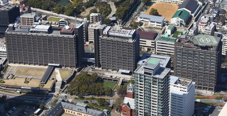 兵庫県庁=神戸市中央区