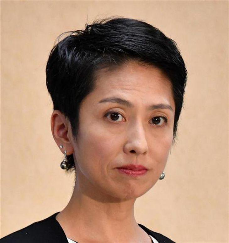 民進党の蓮舫代表(斎藤良雄撮影)