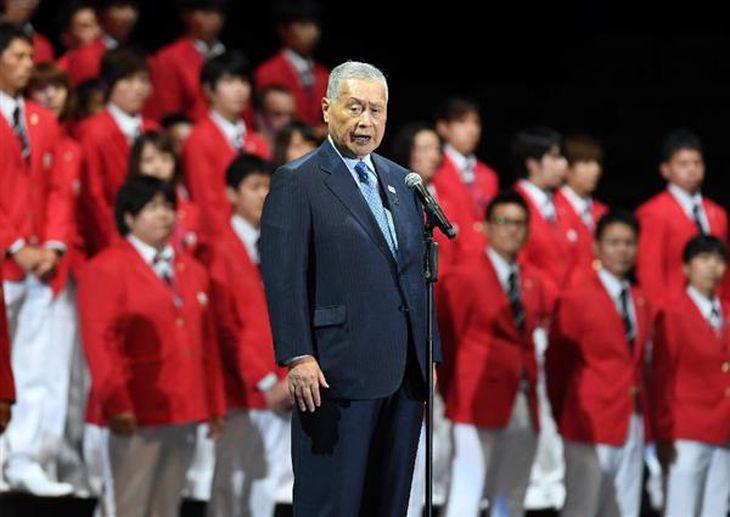 【リオ五輪】壮行会での苦言に森喜朗会長「国歌斉唱をお願いしただけ。文句を言ったわけではない」