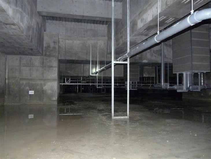 【築地移転延期】豊洲の3棟の地下空洞に水たまり