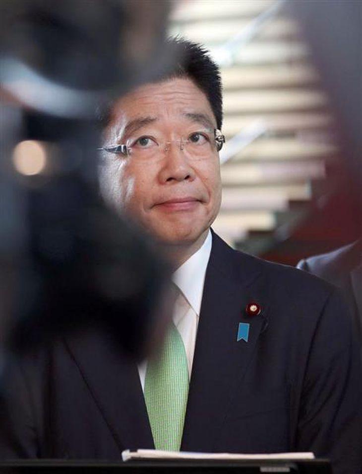 加藤勝信厚生労働相(春名中撮影)