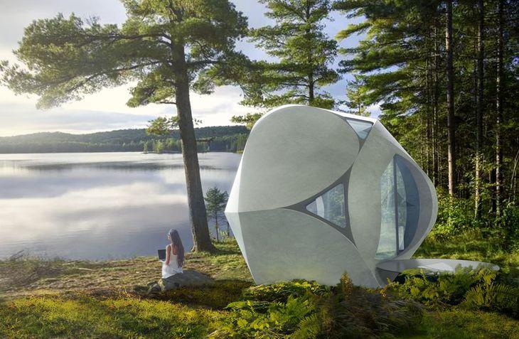 セレンディクスパートナーズが建設する別荘のイメージ(©Clouds Architecture Office)